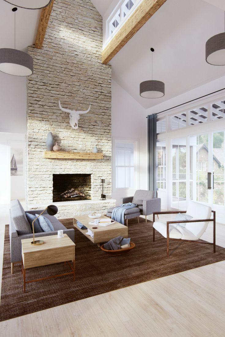 Senepol Farm House Living Room Modern Farmhouse Living Room