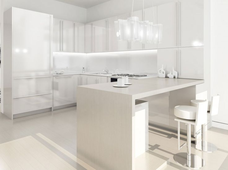 Kitchen : Awesome White Kitchen Ideas Also Kitchen Furniture With Kitchen Decoration And Furniture And Cheerful Kitchen Besides Kitchen In Color Themes Kitchen Inspirations Awesome And Luxury Design White Kitchen Theme White Barstool White Kitchen Floor Find Inspiration Kitchen Design Part 2 Contemporary. Modern Kitchen. Stainless Steel Cooker Hood.