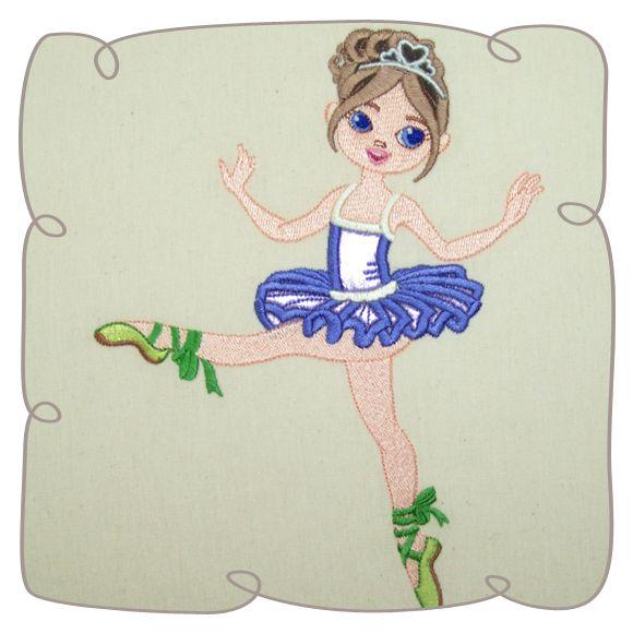 Irina Ballerina 5: Embroidershoppe