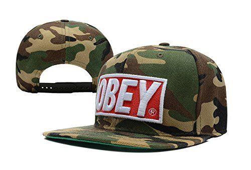 Obey Camo Taylor Closer Stretch Fit Snapback Cap Hat