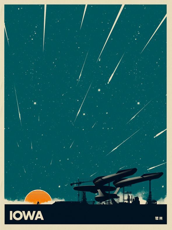 Retro Movie-Inspired Travel Poster Art Series — GeekTyrant