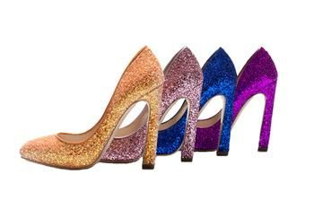 Купить блестящие туфли miu miu