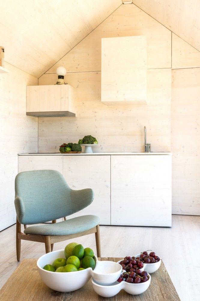 Abaton Aquitectura Portable House APH80 Kitchen