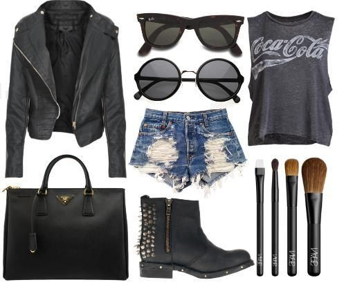 rocker chic fashion - Google Search