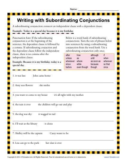 15 best Grammar - Conjunctions images on Pinterest ...