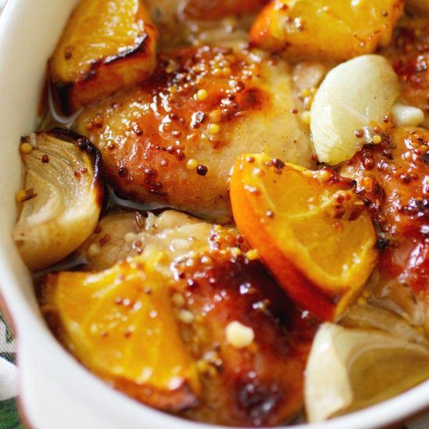 Курица и апельсин — безумно вкусное сочетание!