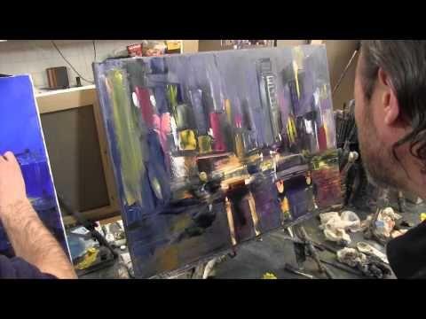 Научиться рисовать большой цветок, живопись для начинающих, художник Игорь Сахаров - YouTube