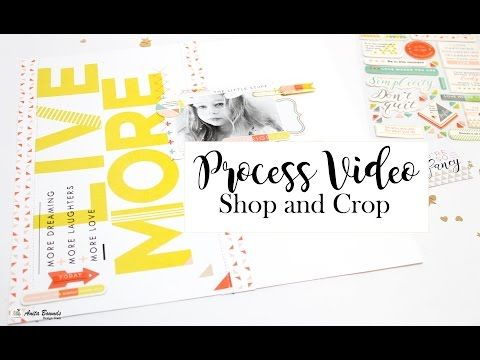 Neat and Crafty: Be Awesome Layout | Shop and Crop kit club