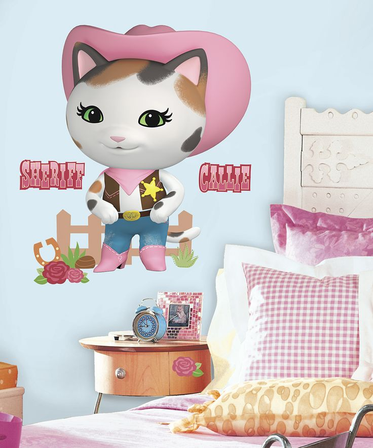 Sheriff Callie's Wild West Giant Wall Decal Set