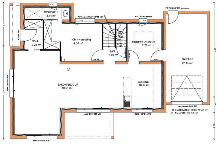 Plan maison 100 m2 maison 150 m 100 m plan de 1 pice et for 100 plans de maison