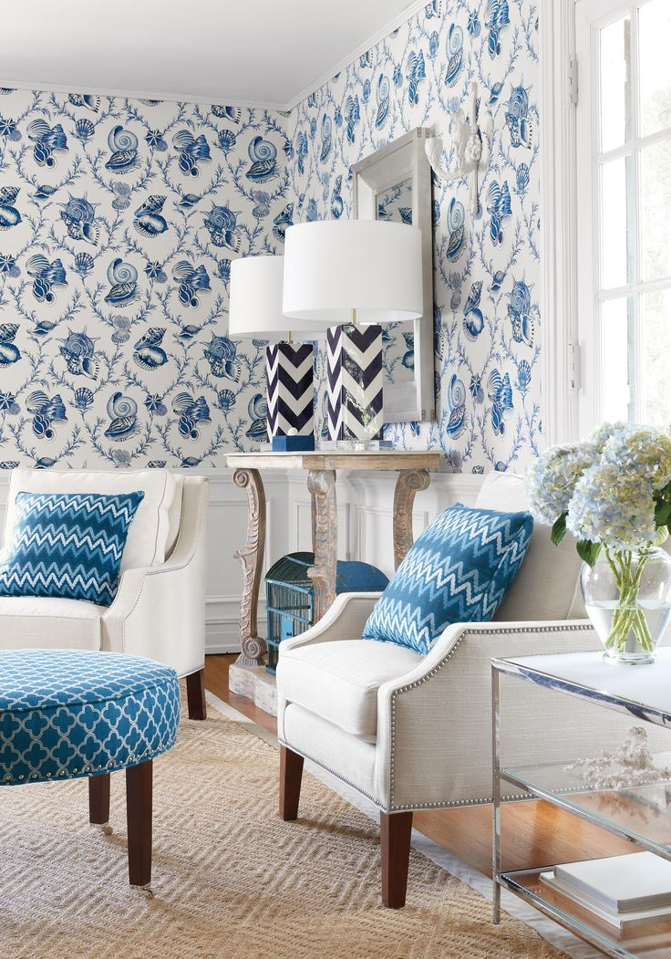 17 best images about thibaut fabrics on pinterest - Wallpaper and curtain sets ...