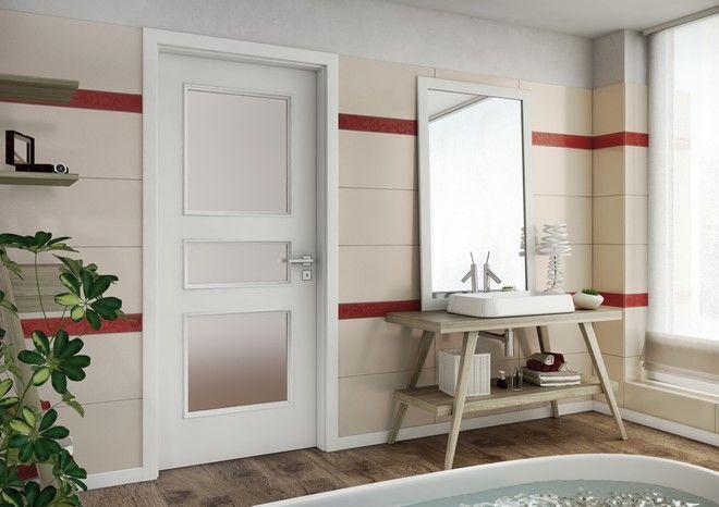 Interiérové dveře Sapeli - BERGAMO dveře do koupelny