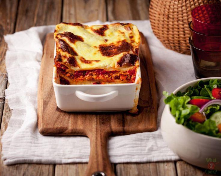 Sweet Potato, Italian Herb and RicottaLasagne
