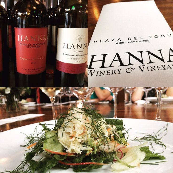 A couple of weeks back, I accepted an invitation to attend a dinner held at John Gorham's Plaza De Toro on SE Taylor in Portland. The focus of the dinner was to transport the essence of spring cuisine in Sonoma to Portland, while we re-acquainted ourselves with the fine wines of Hanna winery