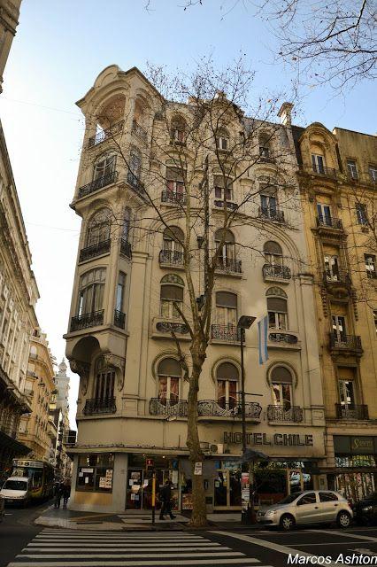 Hotel Chile, MisteriosaBsAs #BuenosAires #Argentina #ArtNouveau