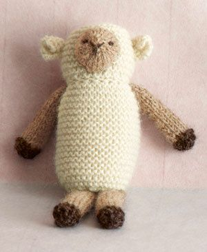 Uma ovelhinha feita de lã!