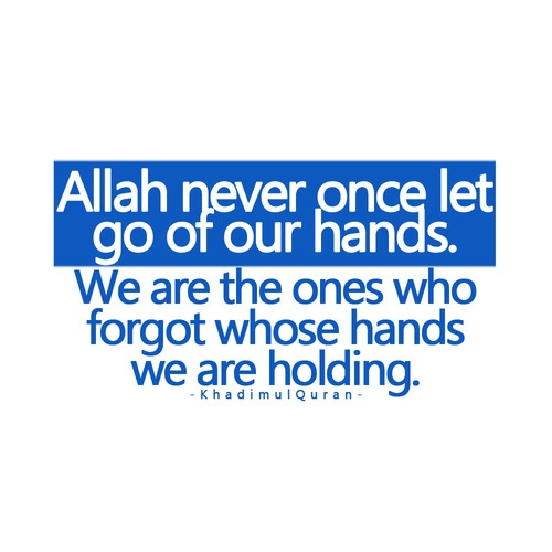 So often, We tend to forget...