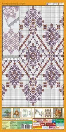 A cross stitch towel (rushnyk) is a very special and sacred symbol characteristic of many Slavic, Baltic and Finno-Ugric national groups. The Ukrainian people integrated a great amount of information into this type of traditional material and spiritual culture and, therefore, such towels are of great interest to the rest of the world. Have a look at latest patterns at…
