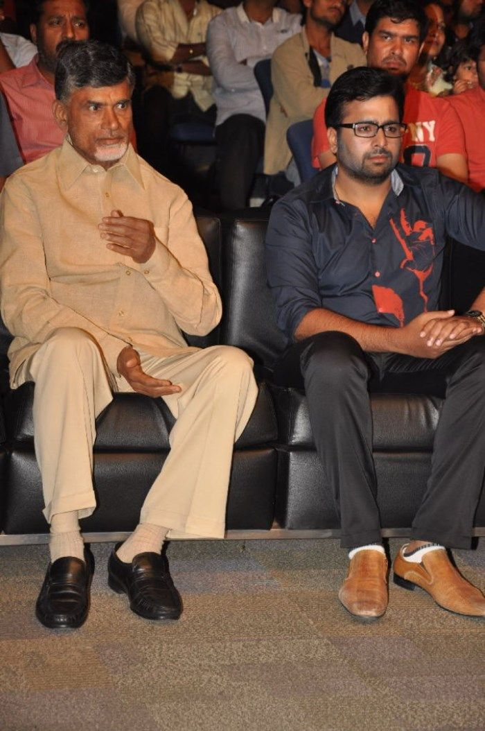 Nara Chandra Babu Naidu @ Nara Rohit's 'Prathinidhi' Movie Audio Launch