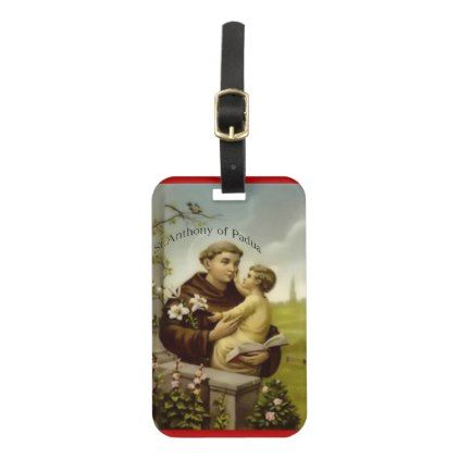 St.Anthony/n Luggage Tag - New Year's Eve happy new year designs party celebration Saint Sylvester's Day