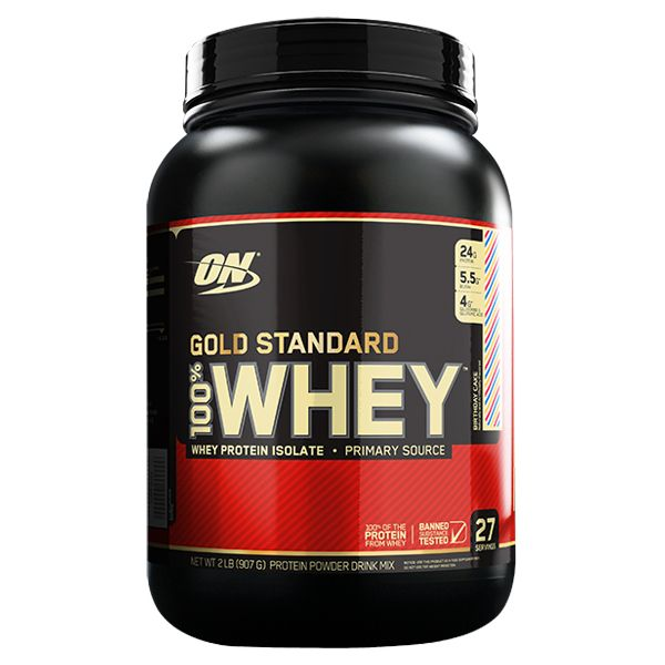 Optimum Nutrition 100% Whey Protein Gold Standard2 Pounds