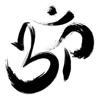 Religion: Om symbol, key component of Hinduism