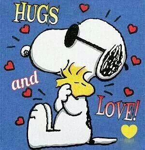 snoopy lv nd hugs