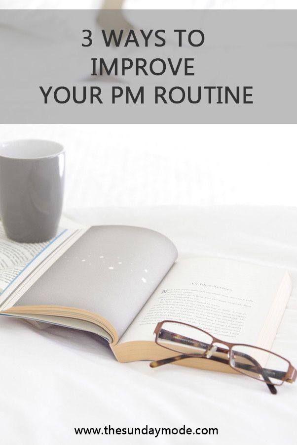lifestyle blogger thesundaymode reading relaxing affirmations positivity PM routine