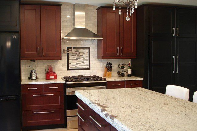 18 Best Cherry Wood Kitchens Images On Pinterest Cherry