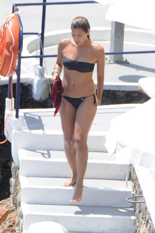 This brilliant eva mendes fur bikini what here