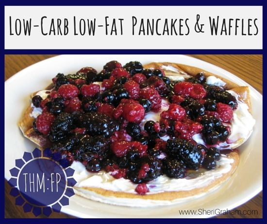 I absolutely love having pancakes and waffles for breakfast (or lunch or dinner) and was so excited when one of my readers came up with this little tweak to my Fuel Pull Vanilla Cake recipe. You can have these Low-Carb Low-Fat Pancakes and Waffles as a FP meal! This recipe is the easiest to use …