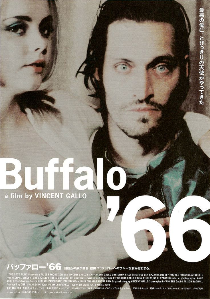 Buffalo '66 (1998)  After being released from prison, Billy is set to visit his parents with his wife, who he does not actually have. This provokes Billy to act out, as he kidnaps a girl and forces her to act as his wife for the visit.  Dir. Vincent Gallo
