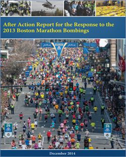 After Action Report for the Response to the 2013 Boston Marathon Bombings | Police Foundation