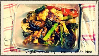 A Gourmet Meal: Grilled Vegetable Stir Fry