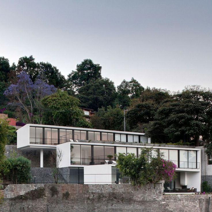 Caza Diaz project, by PRODUCTORA located in Valle de Bravo, a town in Mexico State, Mexico.