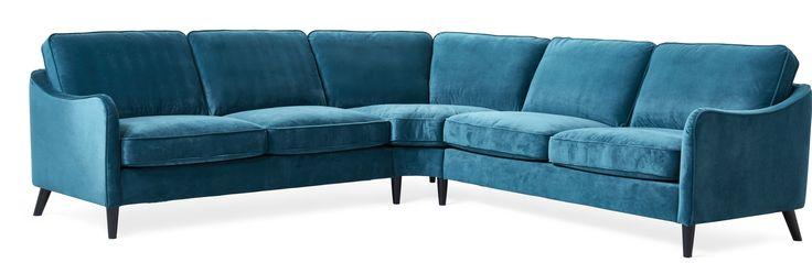 Mirage är en klassisk hörnsoffa med moderna och skandinaviska drag. Den har en mjuk komfort med fjäderblandning. De rundade formerna, lätt utställda eller raka ben, är detaljer som tillsammans med ryggplymåerna ger Mirage sitt fina och nätta uttryck. Köp gärna till fler delar ur serien Mirage.