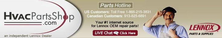 Genuine Lennox HVAC Repair Parts, Filters and Accessories at HvacPartsShop.com