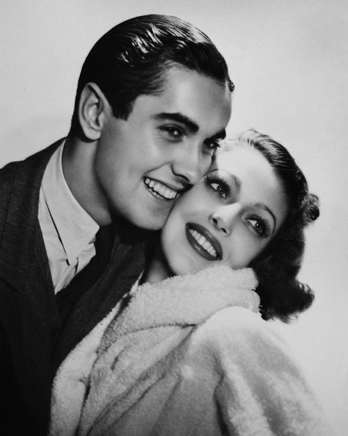 Tyrone Power & Loretta Young