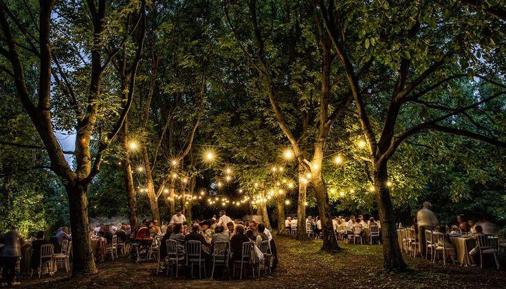 wedding in the forest - wood - matrimonio nel bosco - romantic - fary tale wedding