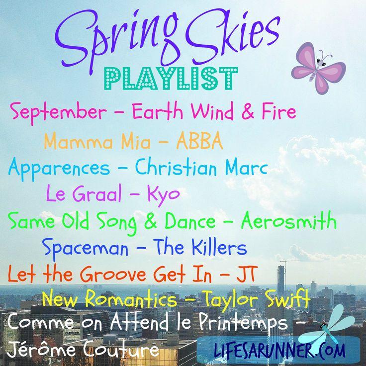Spring Skies Playlist