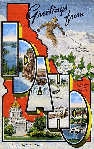 Idaho #vintage #idaho #northwest