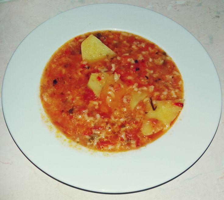 Εύκολη ντοματόσουπα! (Easy tomato soup)
