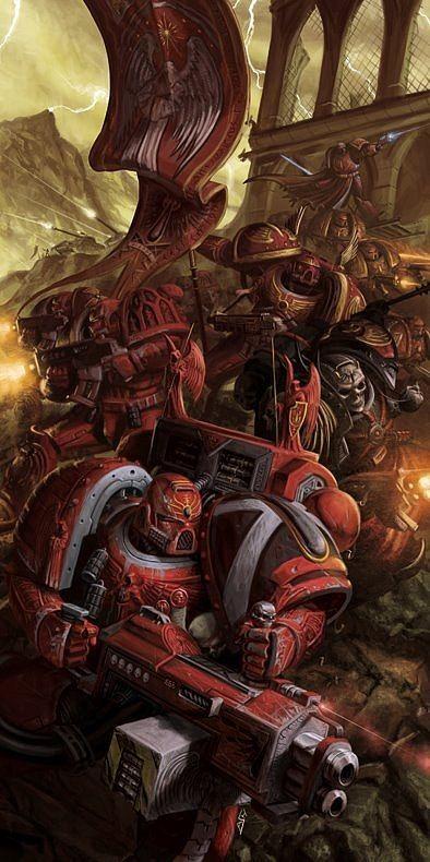 Warhammer 40000,warhammer40000, warhammer40k, warhammer 40k, ваха, сорокотысячник,фэндомы,Imperium,Империум,Blood Angels,Space Marine,Adeptus Astartes