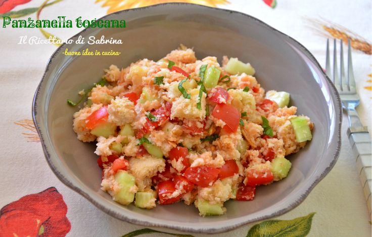 Panzanella ricetta tradizionale toscana il ricettario di Sabrina