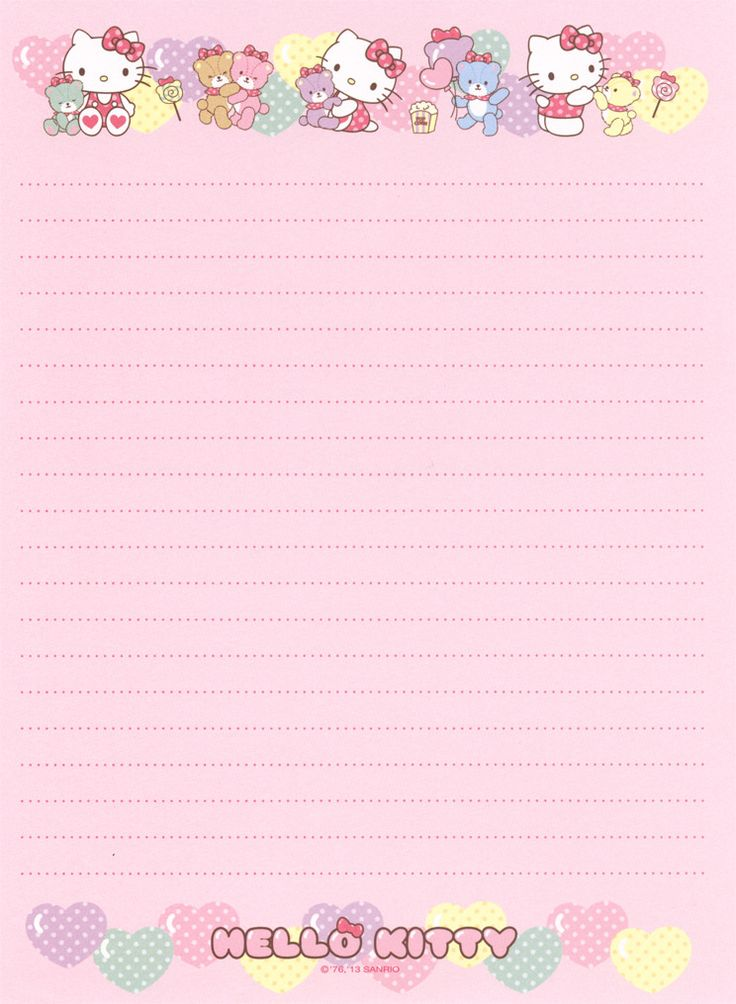 114 best Printable Stationary images on Pinterest Note paper - print lined writing paper