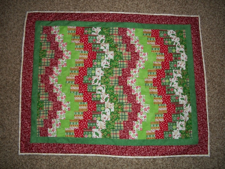 Christmas Quilt   Quilts   Pinterest
