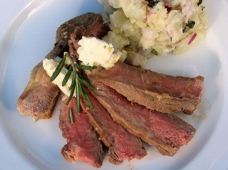 Rosemary Garlic Steak Marinade with Oregano Garlic Butter Recipe - YUM ...
