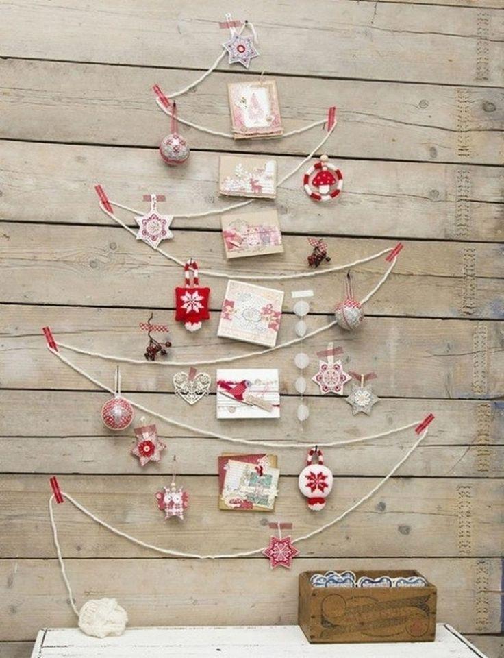 Best wanddeko ideen weihnachtlich dekorieren ideen aus paletten