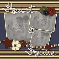 Image result for home sweet home scrapbook layout