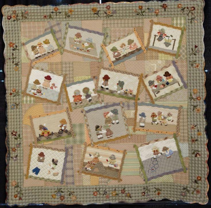 1000 images about quilts reiko kato on pinterest friend - Reiko kato patchwork ...